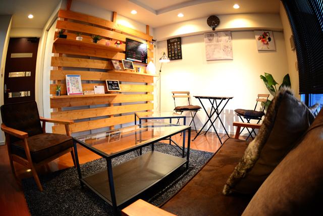 渋谷店 休憩スペース